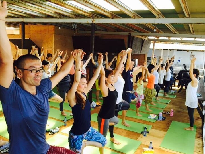 朝yoga@Hawaiian  Village_a0267845_21550664.jpg