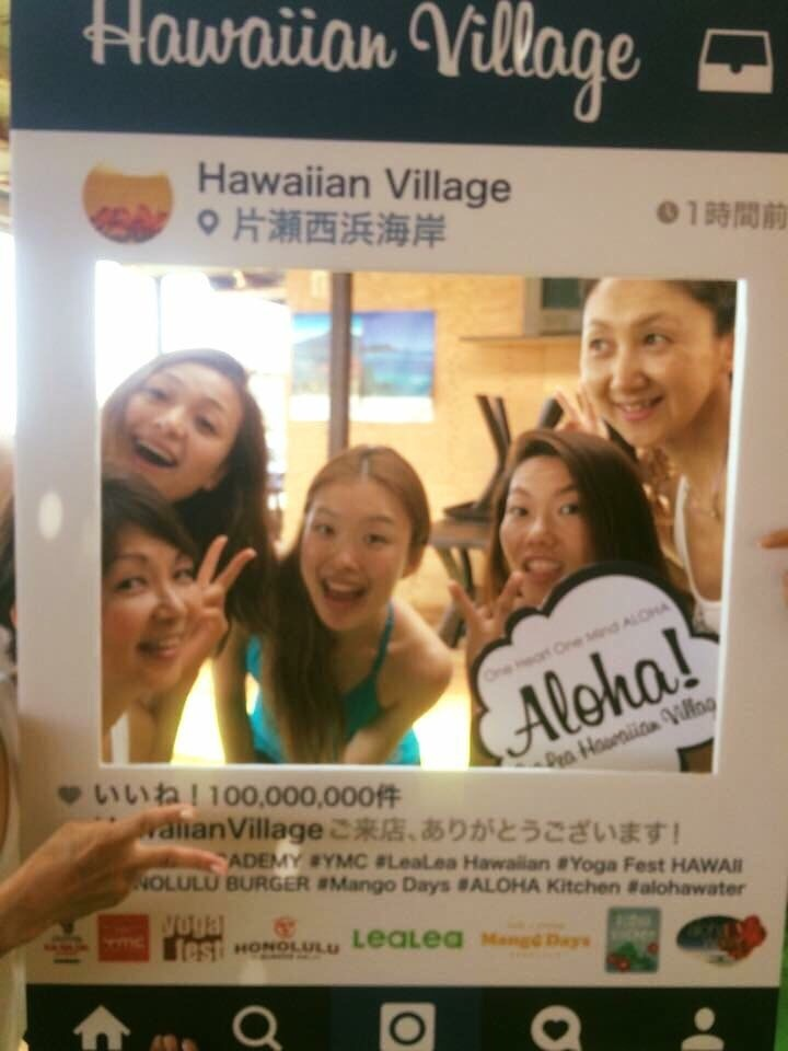 朝yoga@Hawaiian  Village_a0267845_21564197.jpg
