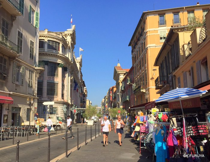 フランス周遊の旅 5  ニースでお散歩_a0092659_2237106.jpg