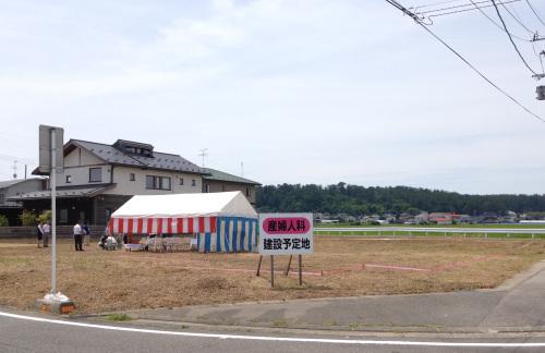 酒田エコ某医院:地鎮祭_e0054299_16202439.jpg