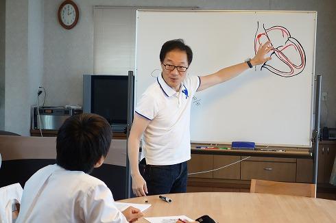 名古屋市立大学医学部6年生の実習_a0152501_1755216.jpg