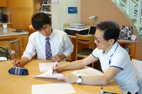 名古屋市立大学医学部6年生の実習_a0152501_1755933.jpg