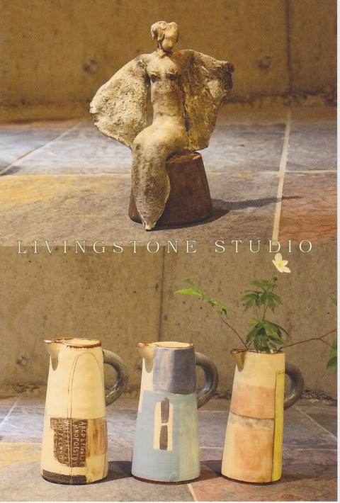 LIVINGSTONE STUDIO 笹本雅行 竹内陽子 作陶展_a0260022_13381365.jpg