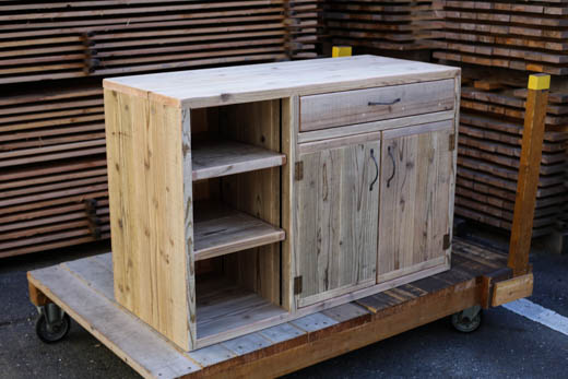 OLD ASHIBA キッチン用キャビネット ●オーダー品_d0237564_18191947.jpg
