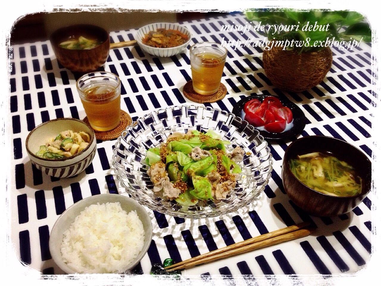 晩ご飯4日分♪_b0343192_22084460.jpg