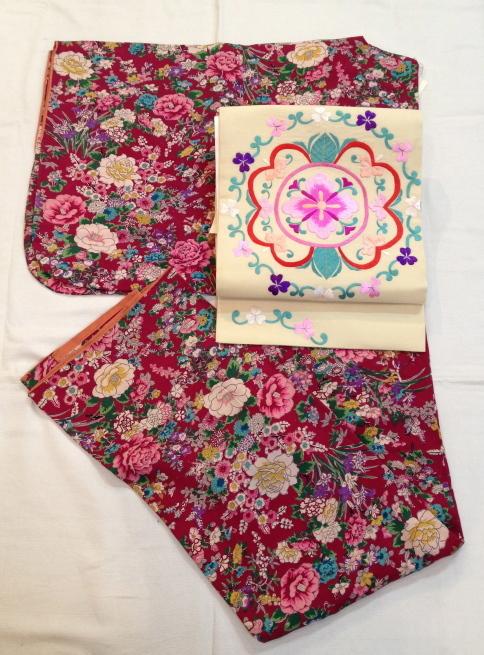 赤薔薇・市松に菊・水色桜着物♪販売商品45_c0321302_18214639.jpg