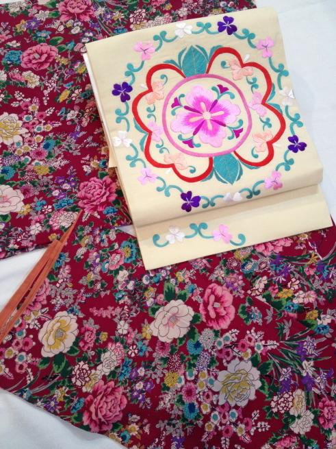 赤薔薇・市松に菊・水色桜着物♪販売商品45_c0321302_18215579.jpg