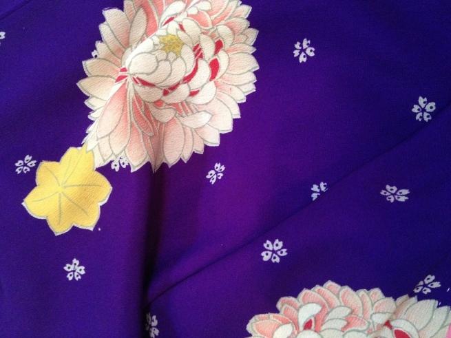 小花・麻の葉・花紋アンティーク着物色々♪販売商品46_c0321302_18323036.jpg