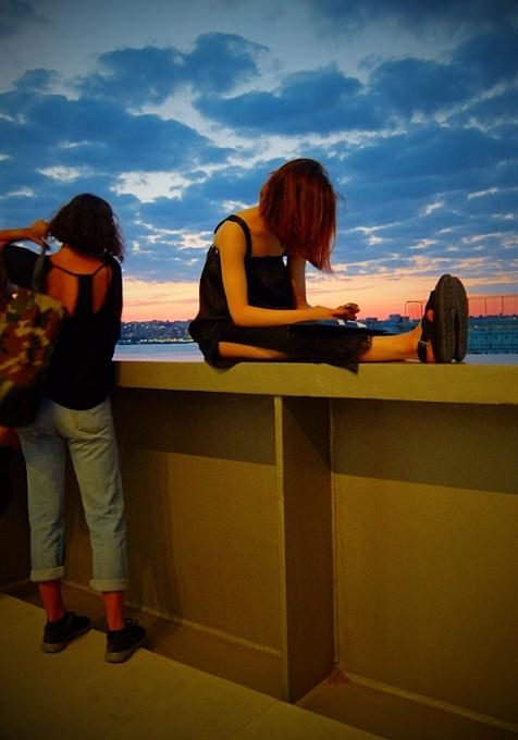 NYの新しい夜景スポット、ホイットニー美術館の屋外スペース_b0007805_12423855.jpg