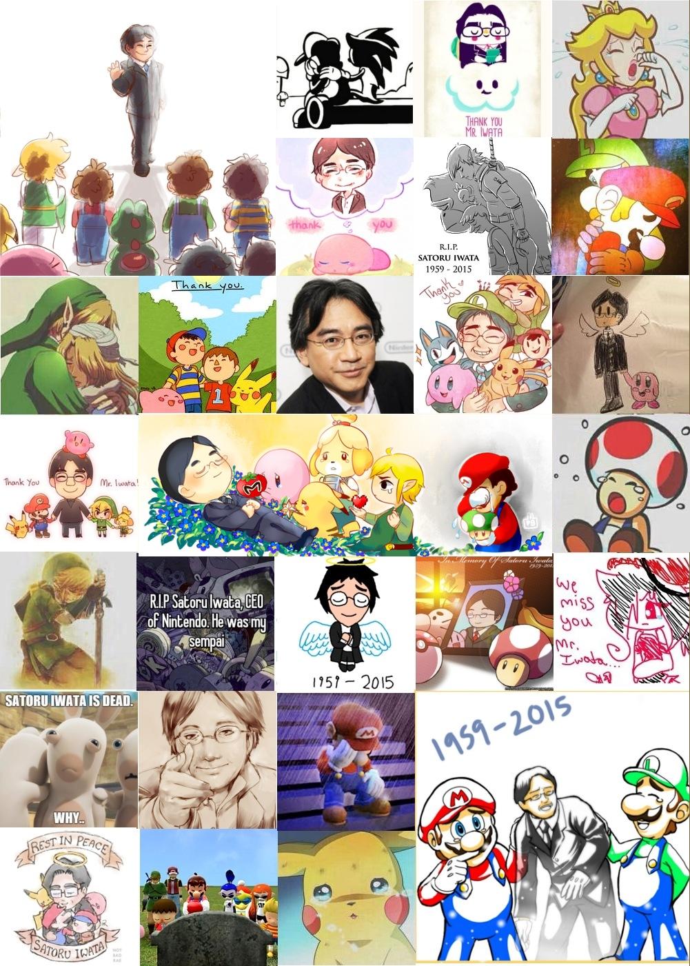 ただ今、世界中で任天堂岩田社長への感動的な追悼投稿が大量発生中 #satoruiwata #ThankYouIwata_b0007805_2151352.jpg