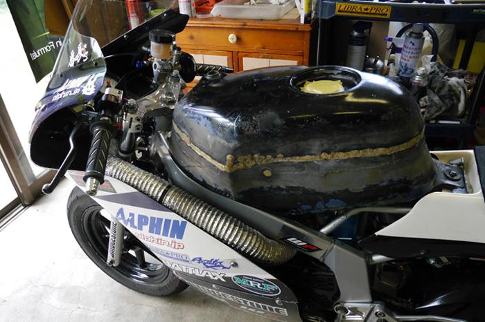 ALPHIN NSR80 NEWカラーリング&耐久タンク完成_d0067418_1593254.jpg