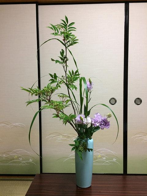 7/14のお花:ナナカマド、トルコキキョウ_b0042538_13320303.jpg