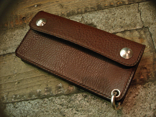 "NEW : STUDIO WOKINI [TRUCKER WALLET] ""MINERVA BOX"" LEATHER !!_a0132147_18222774.jpg"
