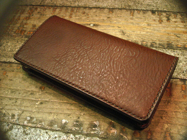 "NEW : STUDIO WOKINI [TRUCKER WALLET] ""MINERVA BOX"" LEATHER !!_a0132147_18231549.jpg"