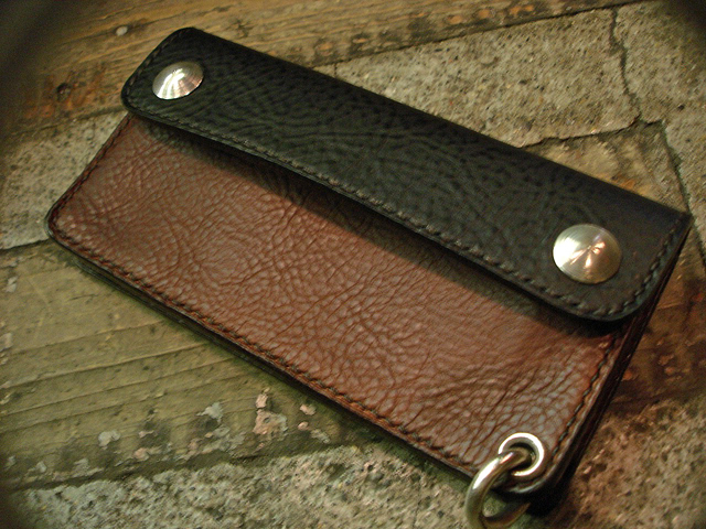 "NEW : STUDIO WOKINI [TRUCKER WALLET] ""MINERVA BOX"" LEATHER !!_a0132147_18235296.jpg"