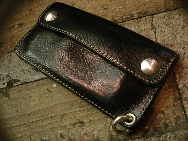 "NEW : STUDIO WOKINI [TRUCKER WALLET] ""MINERVA BOX"" LEATHER !!_a0132147_1824111.jpg"