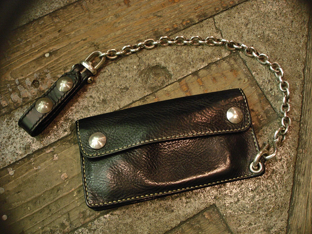 "NEW : STUDIO WOKINI [TRUCKER WALLET] ""MINERVA BOX"" LEATHER !!_a0132147_18263871.jpg"