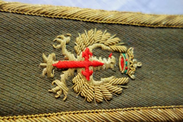 スペイン軍服肩章_f0112550_23294687.jpg