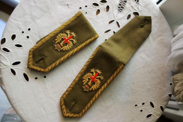 スペイン軍服肩章_f0112550_23315823.jpg