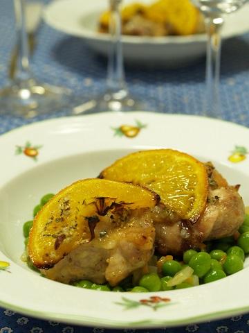 白ワインに合せる鶏肉のお料理~Vino Hayashiマリアージュレシピ2015.07_e0078071_2137765.jpg