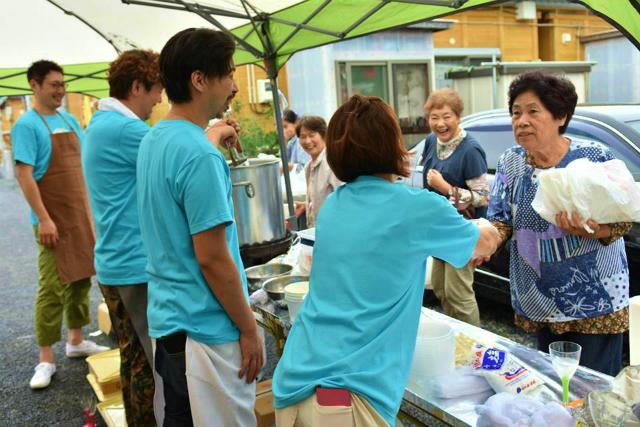 福島県南相馬市で青空レストランを開催しました2015.7.5_a0277483_6172597.jpg