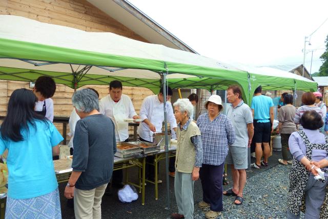 福島県南相馬市で青空レストランを開催しました2015.7.5_a0277483_617580.jpg