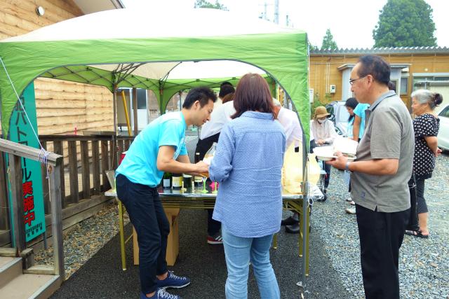福島県南相馬市で青空レストランを開催しました2015.7.5_a0277483_618988.jpg