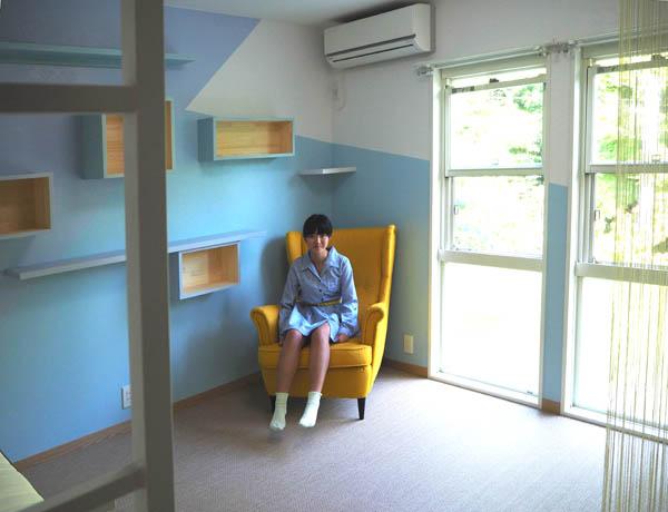 ブルーの部屋_f0171785_1401636.jpg