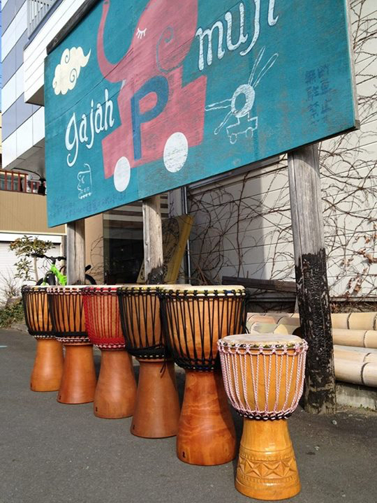 ジャンベWS*GAJAHMUJI DJEMBE WORKSHOP_f0301305_13485687.jpg
