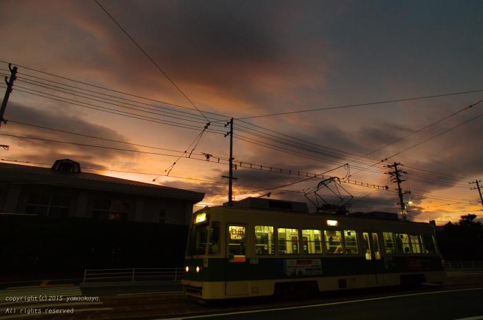 台風の来る夕空_d0309612_22393937.jpg