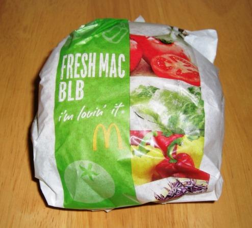 【マック】フレッシュマック ベーコンレタスバーガー~同じ穴のムジナ_b0081121_637424.jpg
