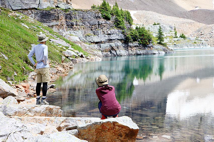 岡田様ご夫妻 Lake O\'hara アルパイン・サーキット_d0112928_1274970.jpg