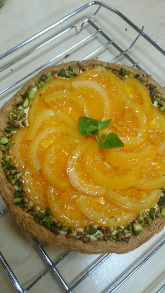 オレンジチーズキッシュ_a0113430_05265138.jpg