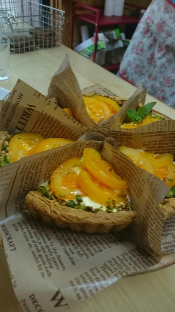 オレンジチーズキッシュ_a0113430_05265249.jpg