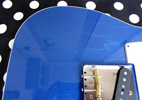 「Sapphire Blue MetallicのStandard-T」の塗装が完了! _e0053731_18245566.jpg