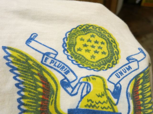 7/18(土)入荷!50'S〜U.S ARMY T-shirts! 染込みプリント!_c0144020_1357461.jpg