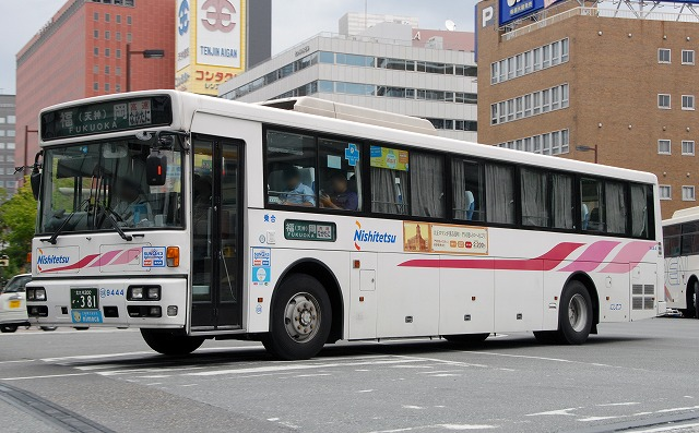 西鉄バス~西工96MC(B)/日産ディーゼル  9444_a0164734_1035434.jpg