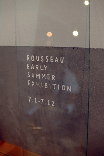 ROUSSEAU Early Summer Exhibition と「神保町いちのいち」出展お知らせ_f0280238_18215248.jpg