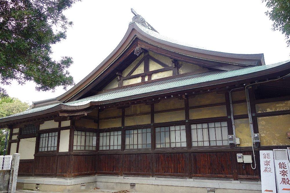 福岡市の住吉神社能楽殿_c0112559_847446.jpg