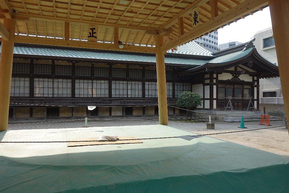 福岡市の住吉神社能楽殿_c0112559_8483041.jpg
