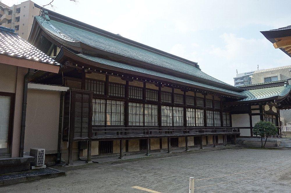 福岡市の住吉神社能楽殿_c0112559_8491440.jpg