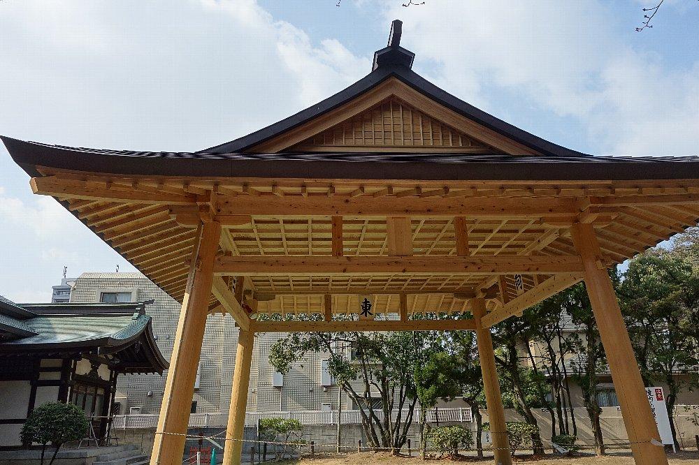 福岡市の住吉神社能楽殿_c0112559_8501085.jpg