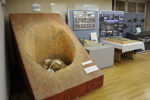 コラムリレー(第47回)  森町遺跡発掘調査事務所の展示室_f0228071_21564035.jpg