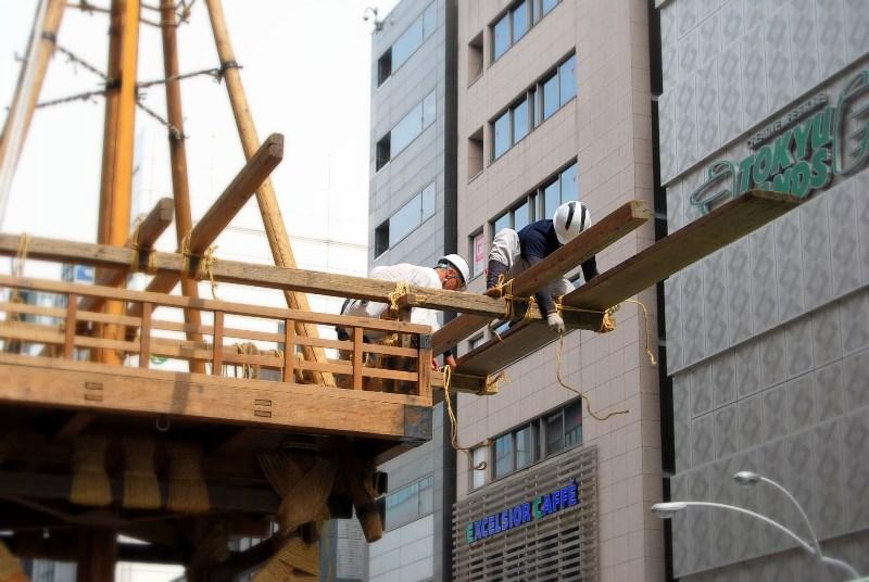 祇園「さゝ木」 祇園祭の山鉾 嵐山の竹林_b0165872_2354499.jpg
