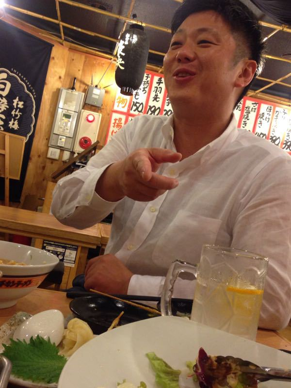 土井鉄会の打ち上げ!!_e0202291_1714012.jpg
