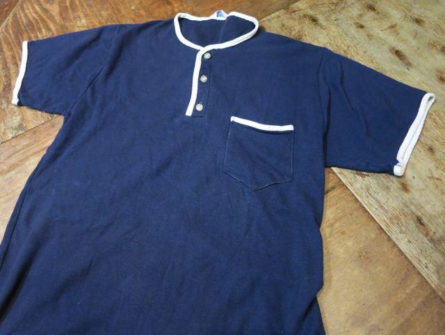 7/19(日)入荷!Sears ヘンリーネック 鹿の子Tシャツ!_c0144020_14551911.jpg