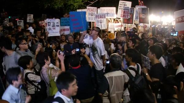 戦争法案 衆院強行採決 5万人が国会前で抗議_f0212121_3162831.png