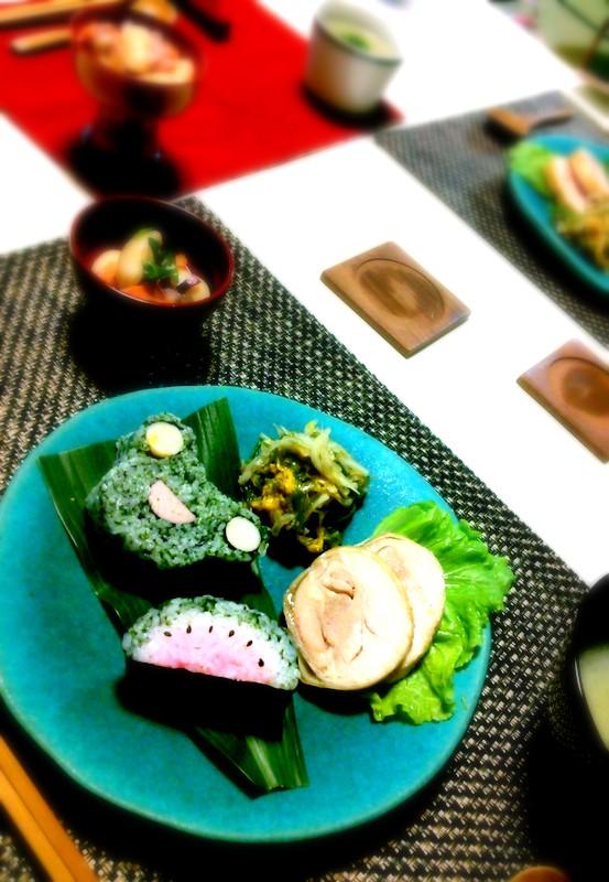 飾り巻き寿司レッスンへ初参加~_b0241353_21431167.jpg