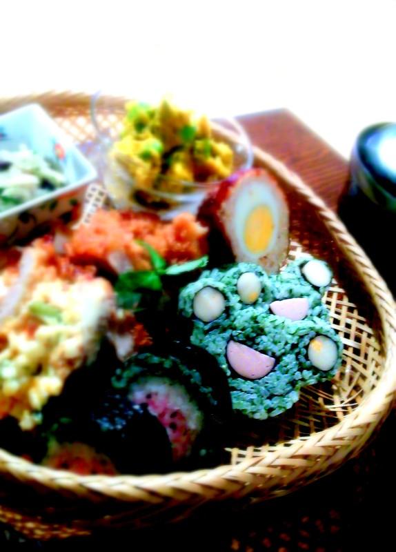 飾り巻き寿司レッスンへ初参加~_b0241353_2150149.jpg