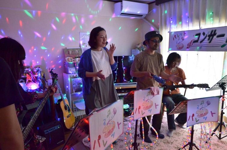 7月5日、七夕コンサート@Misakiちゃん宅♪_e0188087_13283031.jpg